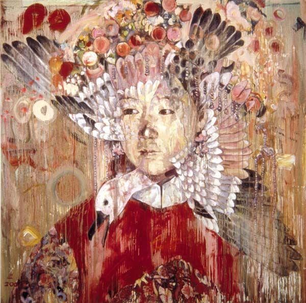 Hung Liu - amazing Chinese artist