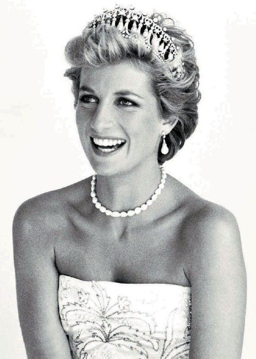 """I don't go by the rule book. I lead from the heart, not the head,"" Princess Diana. A beautiful, amazing woman."