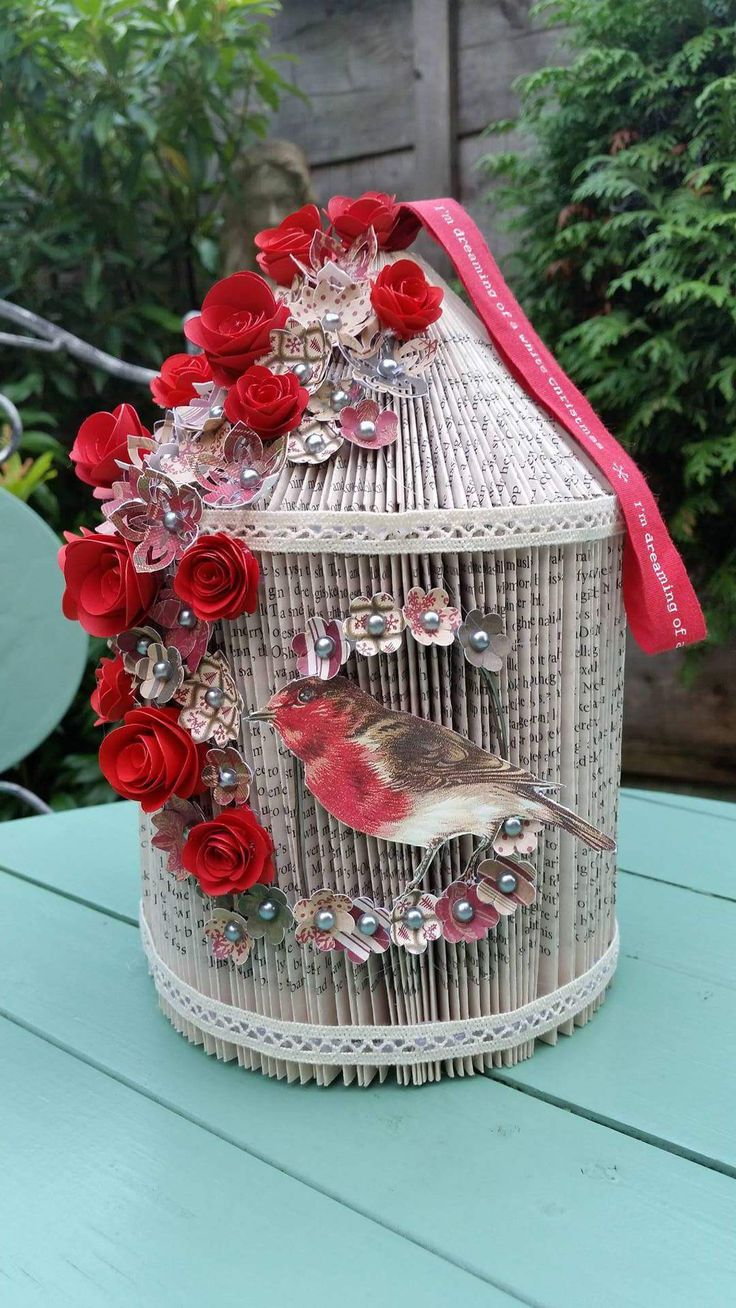 Find out how to make a Birdcage from a Paperback Guide