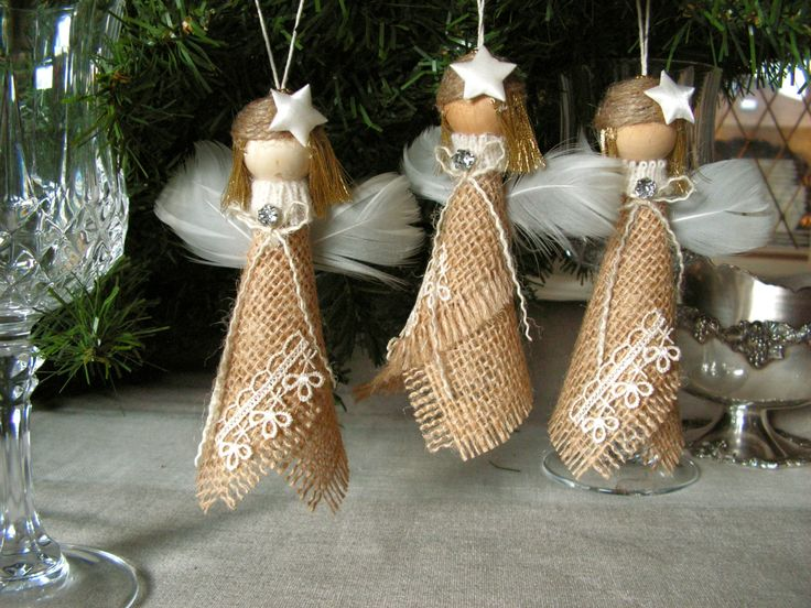 This is a cute set of 3 Angel Christmas Ornaments , to decorate the Christmas tree, wonderful gift for teachers, friends, hostess gifts etc...These sweet angels are waiting to watch over your home during the holidays. They will look great on the shelf, or as your table centerpiece.They measure 5 inches tall.The angels will be carefully and safely packed for shipping .