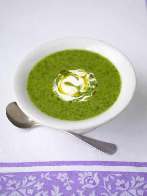 Pea and Watercress Soup, Jamie Oliver #meatfree #vegetarian