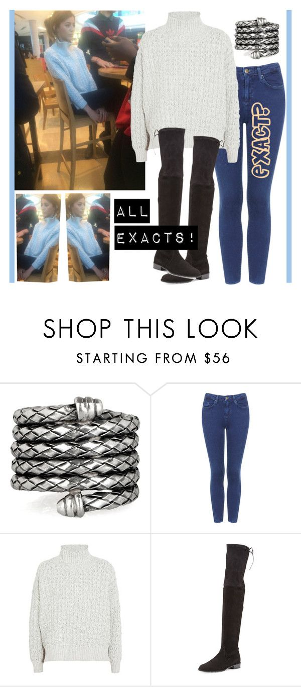 """ELEANOR CALDER INSPIRED OUTFIT <3"" by costina-raftu ❤ liked on Polyvore featuring Bottega Veneta, Topshop, STELLA McCARTNEY and Stuart Weitzman"
