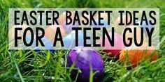 Need ideas for filling your teenage boy's Easter Basket? Here are 50+ Teen Guy Easter Gifts for that young man in your life.