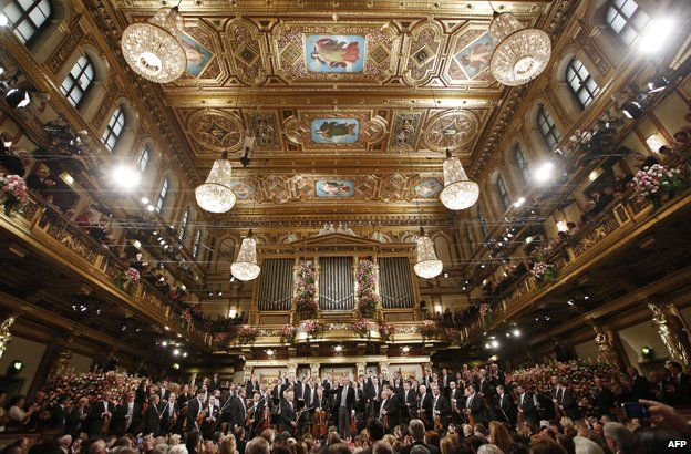 New Year's Day concert, Vienna, 1 January 2013