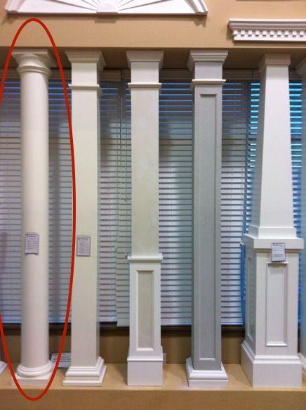 Wrap Around Columns Exterior