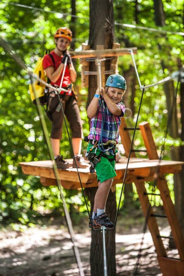 En sécurité et bien équipés, les enfants de cinq ans et plus trouveront des défis physiques et amusant dans les parcs Arbraska. Nous encourageons les professeurs à organiser leurs sorties scolaires dans les parcs Arbraska! Fun et rires garantis! Réservez dès maintenant au 1-877-886-5500