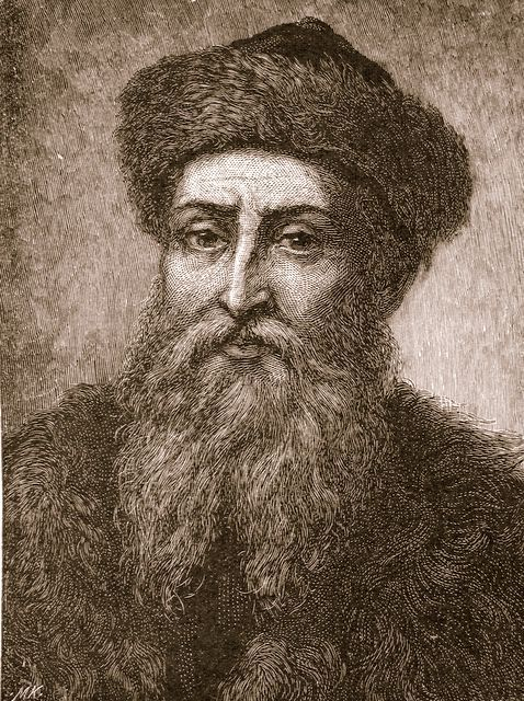 Johannesburg Gutenberg.  Creator of the printing press.  Gave knowledge and the pleasure of reading to the masses.