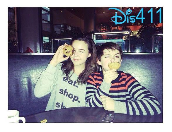 Video: Bailee Madison Having Fun With Max Charles And Mason Charles In Canada March 15, 2014