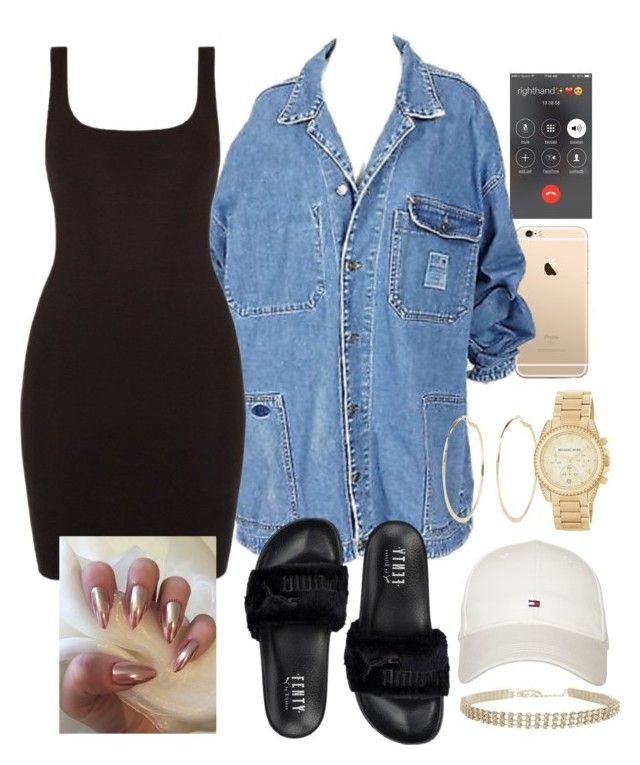 no problem by bbylex23 on Polyvore featuring polyvore, fashion, style, Puma, MICHAEL Michael Kors, Humble Chic, River Island, Tommy Hilfiger and clothing