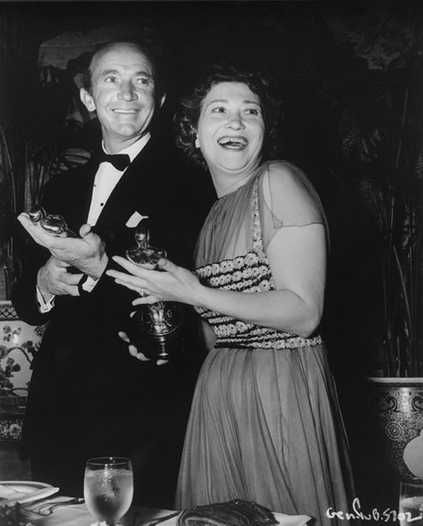 """1939 Oscars: Walter Brennan, Best Supporting Actor for """"Kentucky"""" (1938); Fay Bainter, Best Supporting Actress for """"Jezebel"""""""