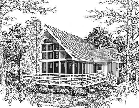 135 best images about home all for homebuilding on for Mountain vacation house plans