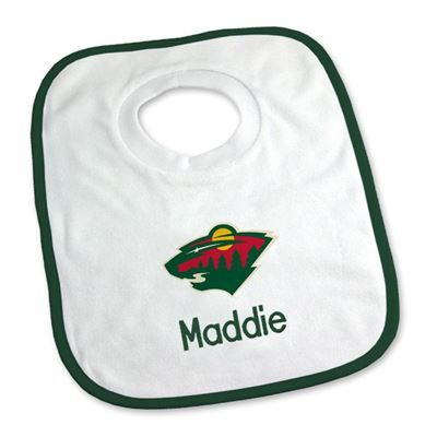 9 best winnipeg jets baby gifts images on pinterest baby gifts keep your future nhl star clean with our personalized minnesota wild bib young fans can negle Choice Image