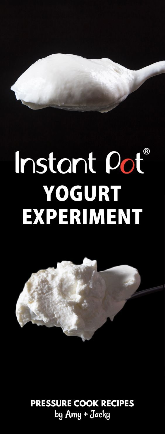 Instant Pot Yogurt Experiment: Check out the findings, tips from our 12 trials of making homemade yogurt (pressure cooker yogurt) for our foolproof Instant Pot Yogurt Recipes. via @pressurecookrec