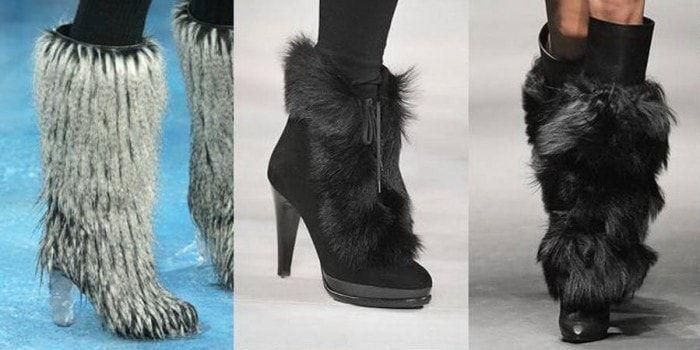 Модная обувь на зиму 2017 года