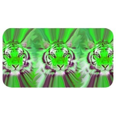 Green tiger heads