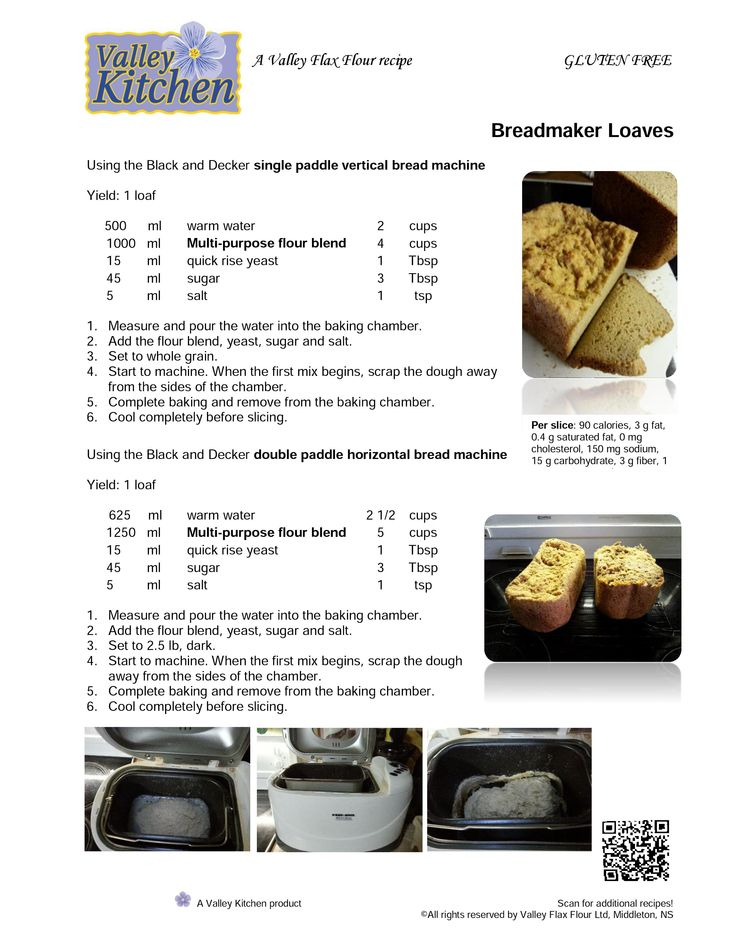 Bread Machine Loaves