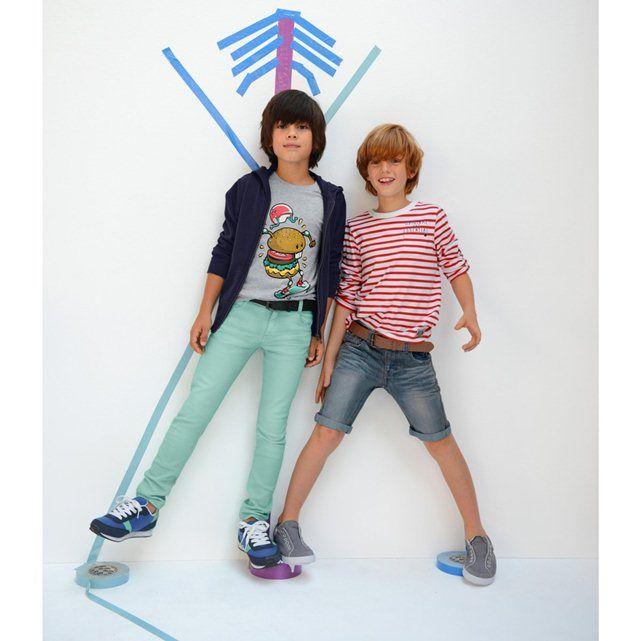 Image Jean skinny couleur délavé R kids