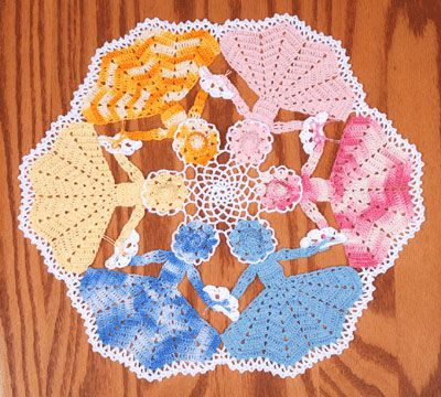 Circle of Joy Crinoline Doily crochet pattern to buy