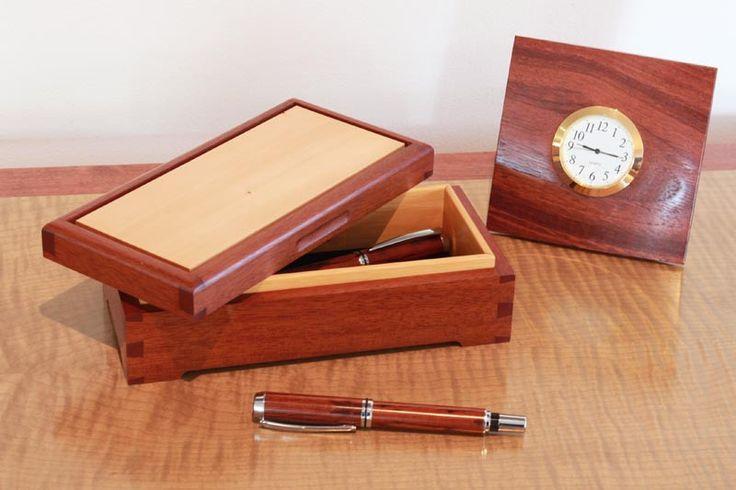 Buy Dovetail Desk Top Box | Australian Woodwork | Australian Woodwork