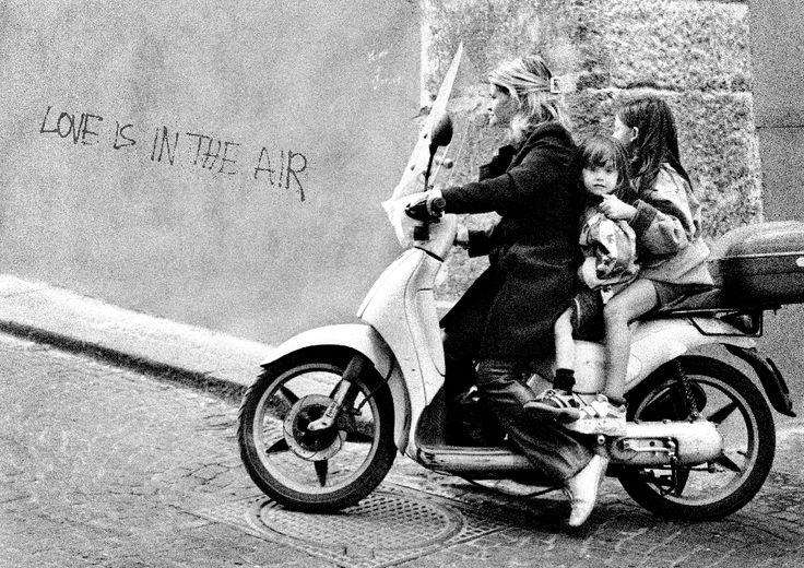 3 On A Bike Naples Carla Coulson Fine Art Print | Carla Coulson