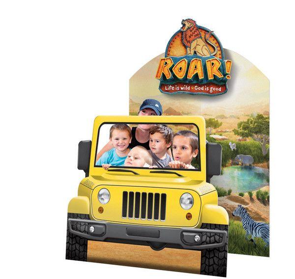 Safari Vehicle Photo Op Small 3 ft 4 in