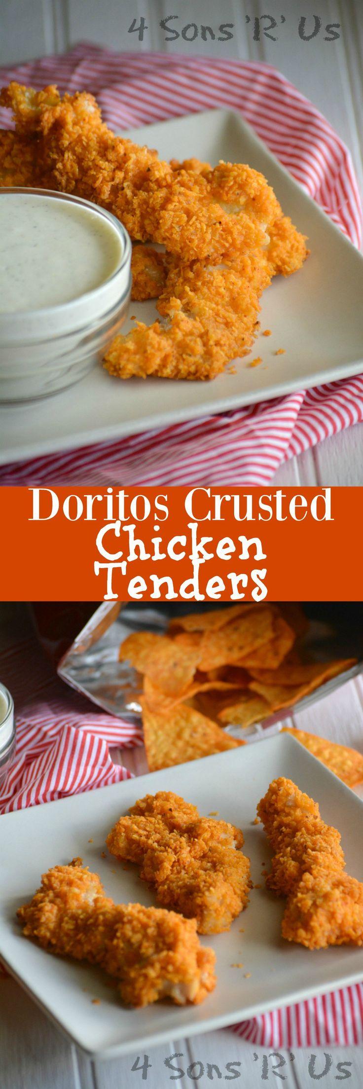 Doritos Crusted Chicken Tenders