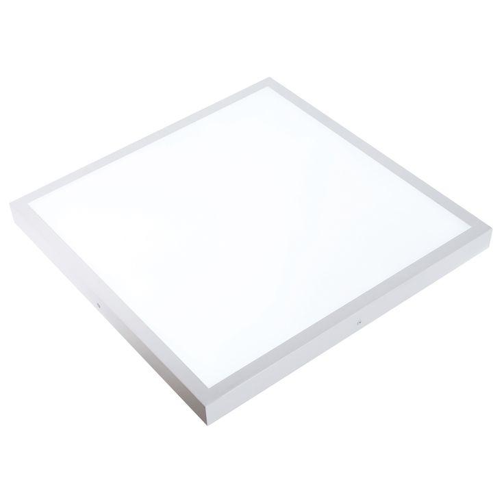 Plafon de LED con posibilidad de regular tonalidad de luz | Comprar Plafones y lamparas de techo economicas Lampara plafon de techo o pared estilo contemporaneo #decoracion #iluminacion #interiorismo #diseño #lamparas #lamparastecho #plafonestecho