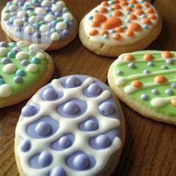 Glaçage pour biscuits sablés