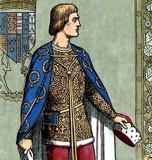 Richard 3rd Duke of York (Plantagenet) 18th GreatGrandfather---Born in Coinsborough Castle 20 Sep. 1411 Died in the Battle of Wakefield Green 31 Dec. 1460--married Cecily Neville Oct. 1425--Father of King Edward IV of England