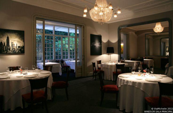 Windsor - Barcelona- Restaurante de la Guía Michelin