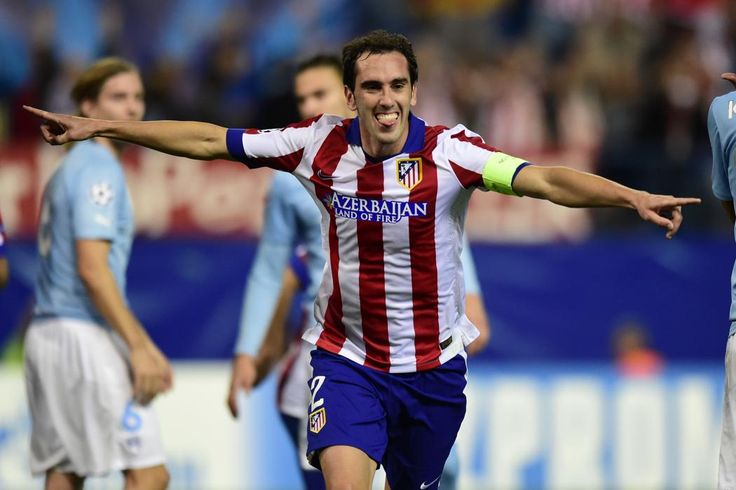 L'équipe type des oubliés du Ballon d'Or 2014 Défenseur Diego Godin (Uruguay / Atlético Madrid)