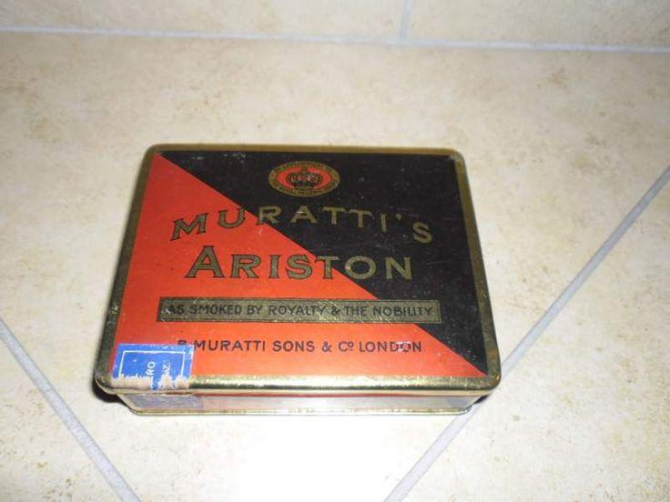 Scatola sigarette Muratti's Ariston d'epoca