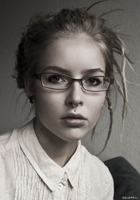 Perfect example of pretty piercings.