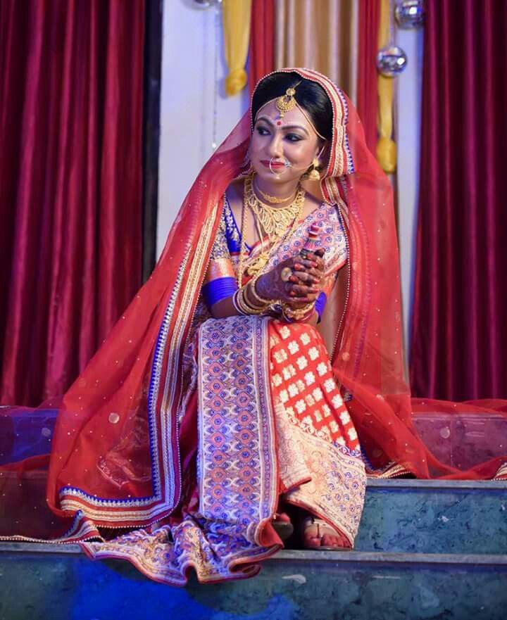 #Bengal #bridal #bride #bengali #wedding #India