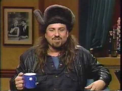 All of Bobcat's appearances on late night talk shows are stupendous. As long as his old voice from that era doesn't annoy you.