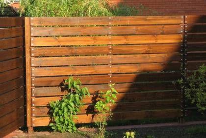 Gard din lemn 0014 | Foisoare, garduri, terase, cabane, pergole
