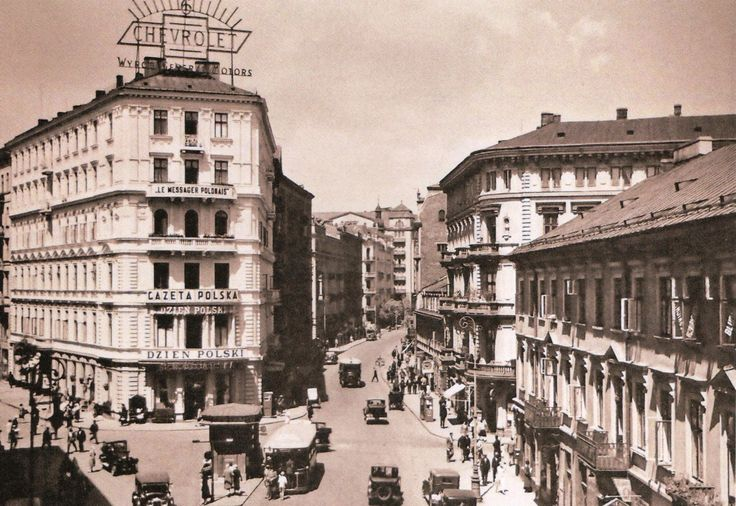 Pre-war Warsaw! (Pre-war images only, 5 image limit per post) - Page 11 - SkyscraperCity