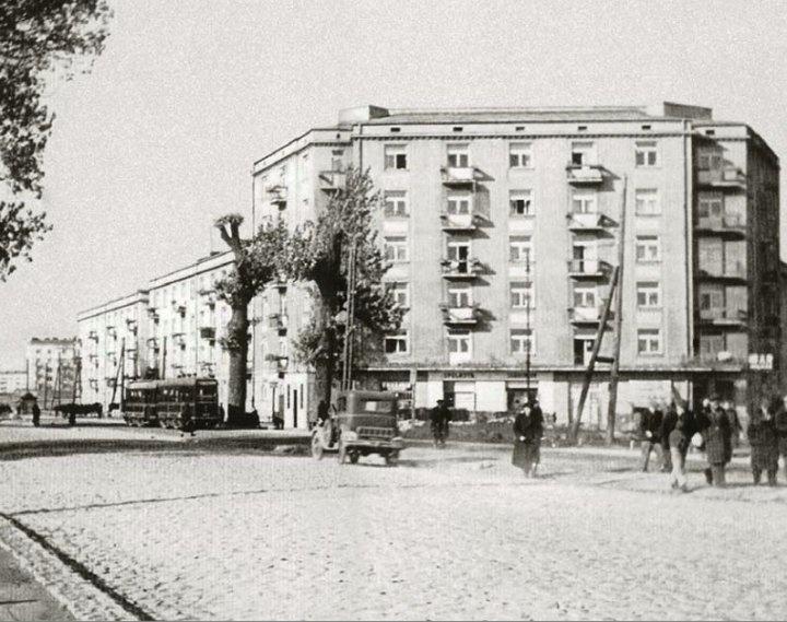 "My favorite :) housing co-operative #""Fenix"" / #Wilson Square / #Zoliborz / #Warsaw / #Poland / 1928"