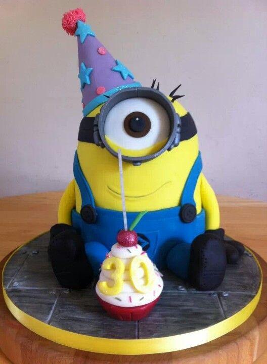 Gallery minion happy birthday cake - Cake decorations minions ...
