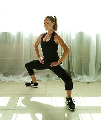 These three simple moves from personal trainer Nora Tobin will target your butt, belly, and thighs. Tone the body you want and say goodbye to saddlebags and belly pooch with the Side Plank, Second Position Plié, and Bridge.RELATED: For even more ways to firm up all of your trouble zones, click here.