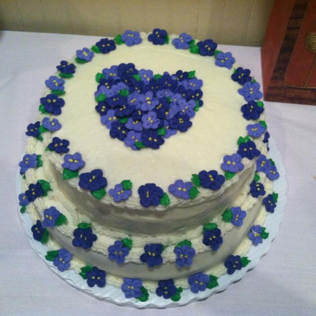 Birthday cake I made for my mom