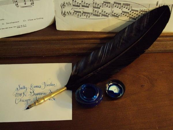 40 best books and dip pens feather images on pinterest feathers i found vintage old fashioned feather dip pen on wish altavistaventures Images