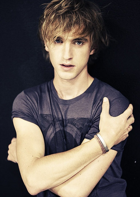 Tom Felton... Malfoy grew up to be very attractive