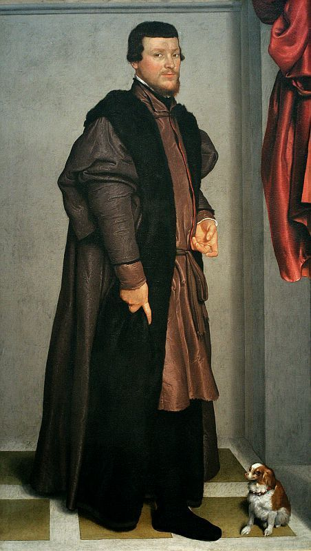⍕ Paintings of People & Pets ⍕ Giovanni Battista Moroni | Gian Federico Madruzzo, c.1560