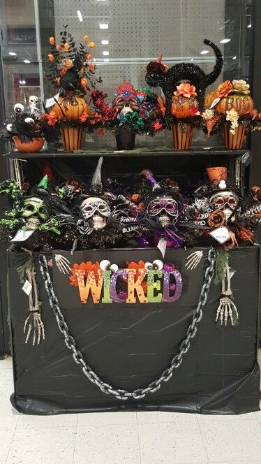 10 best Displays at Michaels images on Pinterest Floral - michaels halloween decorations
