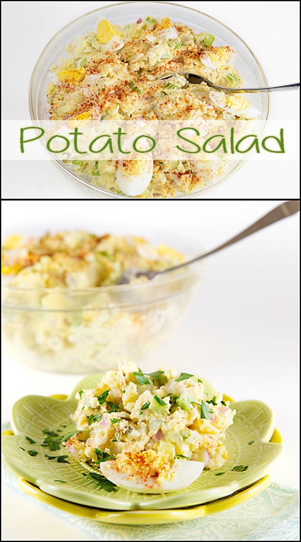 Potato Salad (like my Mama used to make). www.joyineverysea...