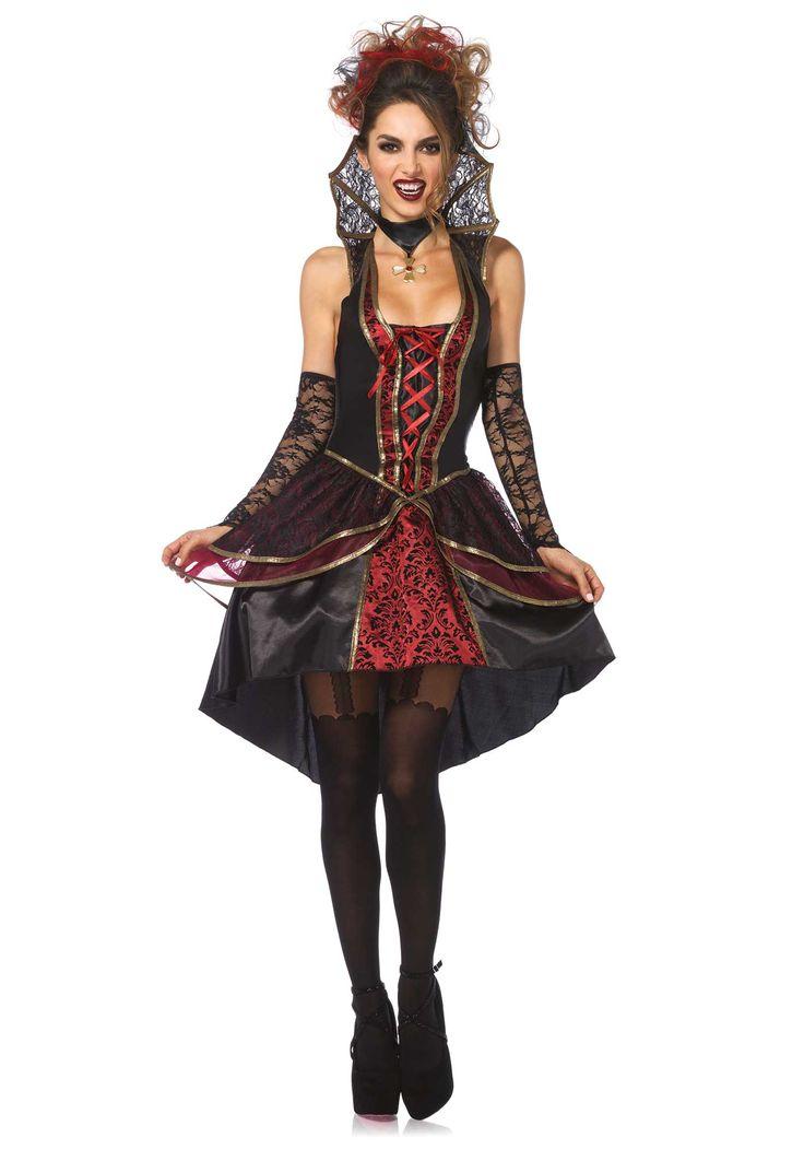 De mooiste Halloween kleding is nu te bestellen bij Vegaoo.nl! Bekijk nu dit mooie vampier kostuum voor vrouwen en wees de meest sexy van het feest!