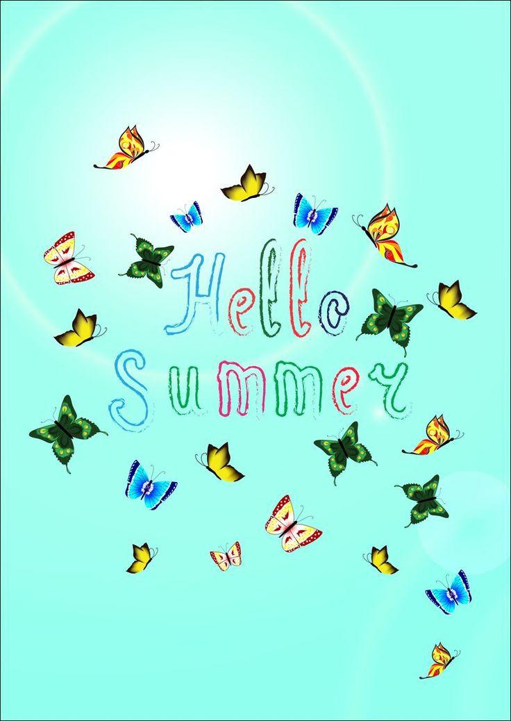 My vector work on iStock ^.^ Hello Summer!