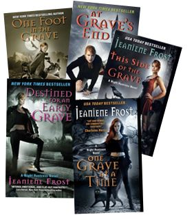 Night Huntress series by Jeaniene Frost. Cat and Bones are to die for! :)