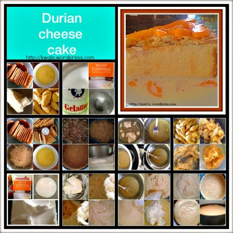 King of Fruits + Cream Cheese = Durian Cheesecakes, Game to Try? | GUAI SHU SHU
